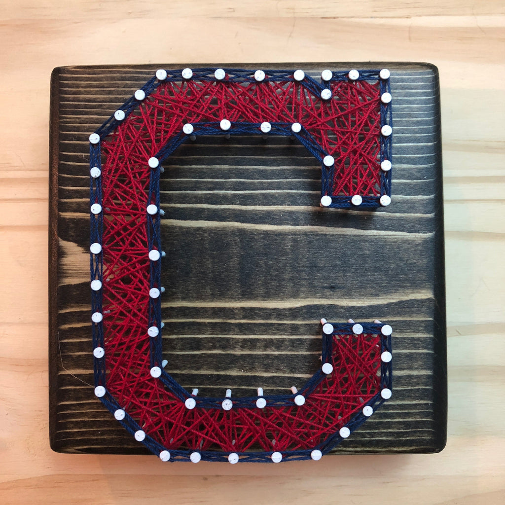 finest selection e6a24 a6a59 Cleveland Indians String Art