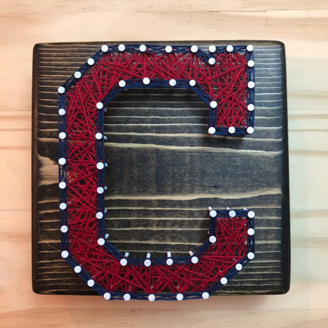 Cleveland Indians String Art - Celebrate Local, Shop The Best of Ohio