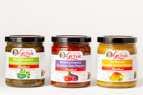 3 Flavor Gift Pack Slathers Mediterranean, Caribbean and Southwestern - Celebrate Local, Shop The Best of Ohio