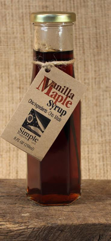 Vanilla Maple Syrup (8oz) - Celebrate Local, Shop The Best of Ohio