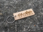 O-H-I-O People Wood Key Chain - Celebrate Local, Shop The Best of Ohio
