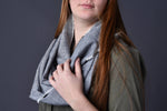 Infinity Scarf with Hand Frayed Edges - Celebrate Local, Shop The Best of Ohio