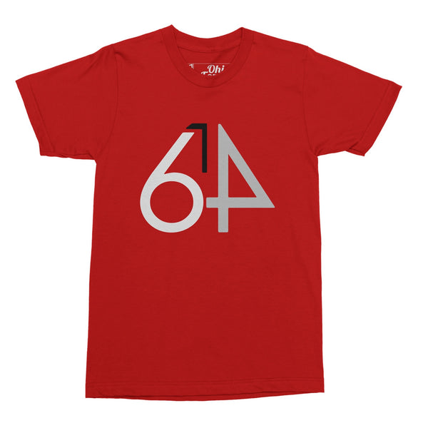 614 Red T-Shirt - Celebrate Local, Shop The Best of Ohio