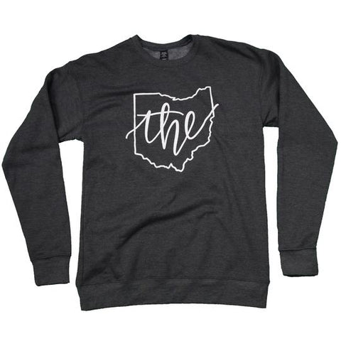 Ohio Is The Place To Be Crew Neck Sweater - Celebrate Local, Shop The Best of Ohio