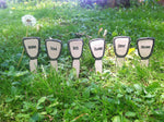 Herb Garden Markers - Ceramic - Celebrate Local, Shop The Best of Ohio
