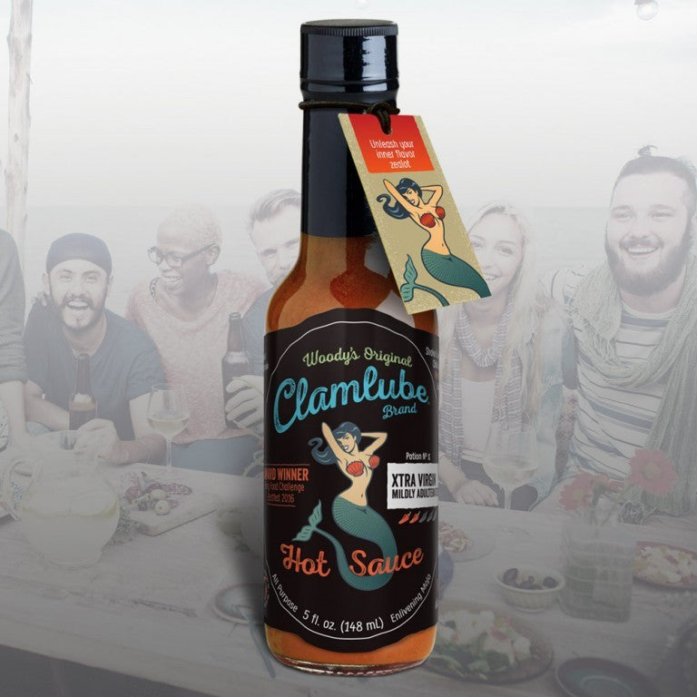 Clamlube Potion No.X Xtra Virgin Mildly Adulterated Hot Sauce - Celebrate Local, Shop The Best of Ohio - 1