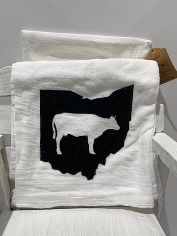 Ohio Themed Tea Towels - Celebrate Local, Shop The Best of Ohio