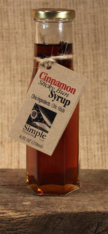 Sticky Bun Syrup (8oz) - Celebrate Local, Shop The Best of Ohio