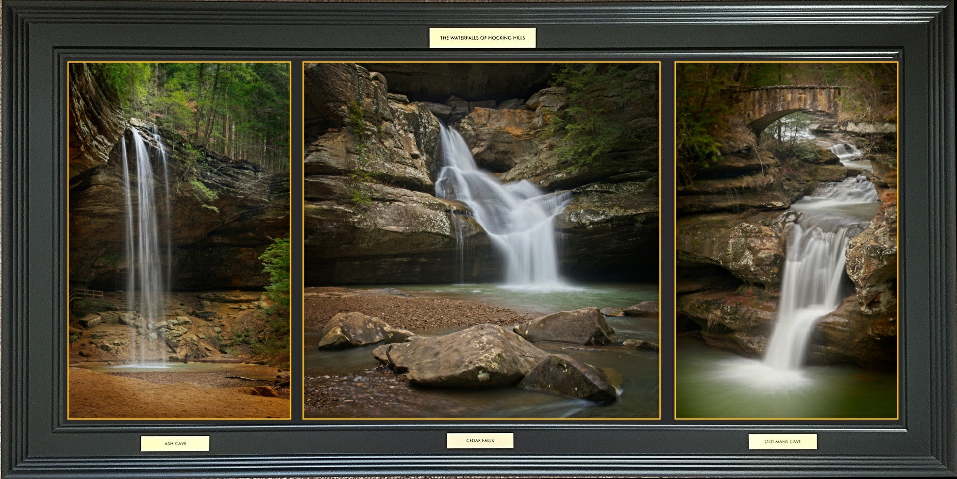 Waterfalls of Hocking Hills -  Framed Photographic Print