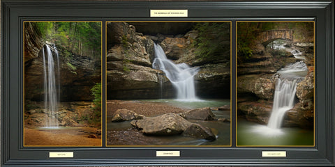 Waterfalls of Hocking Hills -  Framed Photographic Print - Celebrate Local, Shop The Best of Ohio