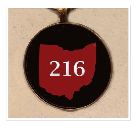 Ohio Area Code Key Chain (Variety of Area Codes) - Celebrate Local, Shop The Best of Ohio