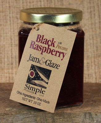 Black Raspberry Pecan Glaze (10 oz) - Celebrate Local, Shop The Best of Ohio