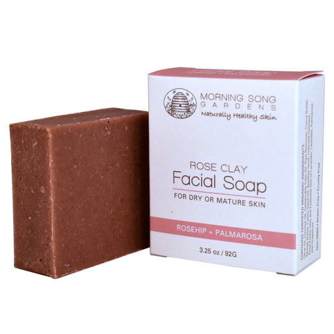 Rose Clay Facial Soap - Celebrate Local, Shop The Best of Ohio