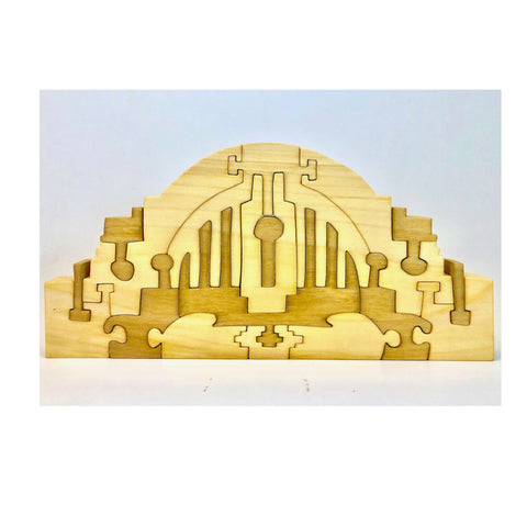 Cincinnati Union Terminal Wood Puzzle - Celebrate Local, Shop The Best of Ohio