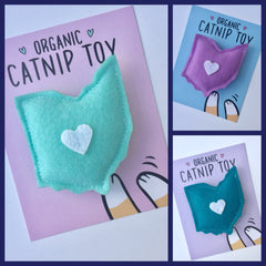 Ohio Shape Catnip Organic Cat Toy - Celebrate Local, Shop The Best of Ohio