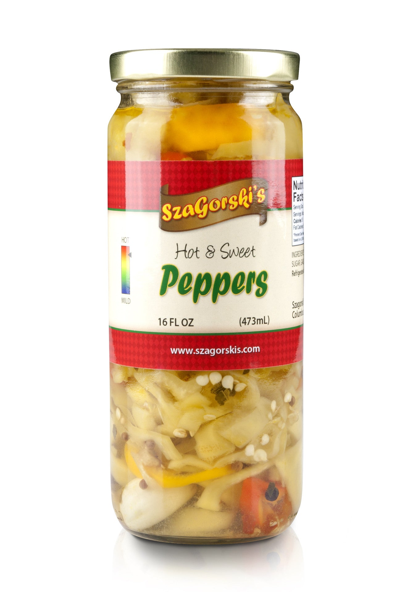 Szagorski's Hot and Sweet Peppers - Celebrate Local, Shop The Best of Ohio