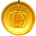 Pumpkin Amber - Recycled Glass Sun Catcher - Celebrate Local, Shop The Best of Ohio
