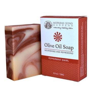 Peppermint Swirl Olive Oil Soap - Celebrate Local, Shop The Best of Ohio