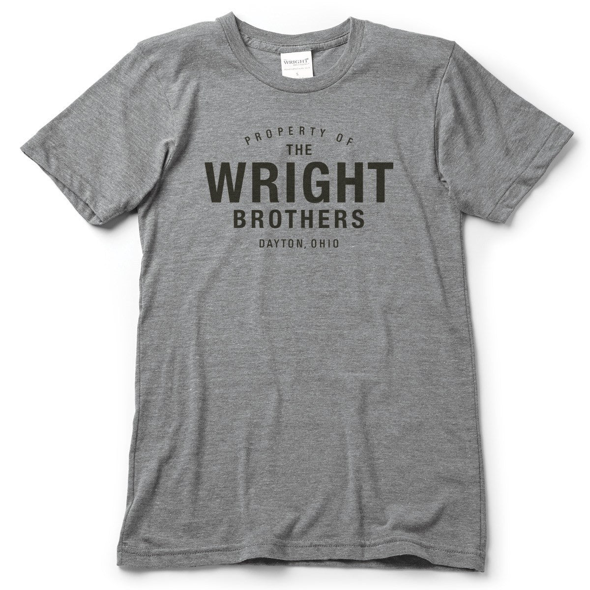 Property of the Wright Brothers T-Shirt - Celebrate Local, Shop The Best of Ohio