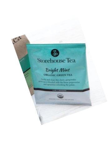 Organic Loose Leaf Tea Sachet - Single Use - Various Flavors - Celebrate Local, Shop The Best of Ohio