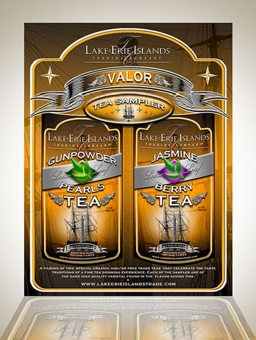 Valor Tea Sampler - 2 Pack - Celebrate Local, Shop The Best of Ohio