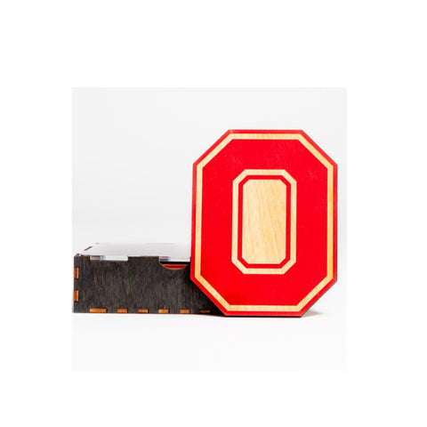 Ohio State Themed Coasters Set of 4 - Celebrate Local, Shop The Best of Ohio