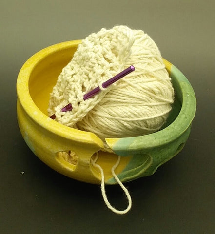 Earthtone Hand Thrown Ceramic Yarn Bowl - Celebrate Local, Shop The Best of Ohio