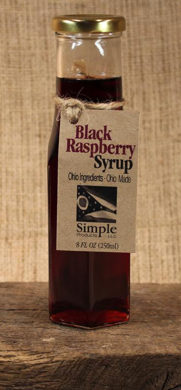 Black Raspberry Syrup (8 oz) - Celebrate Local, Shop The Best of Ohio