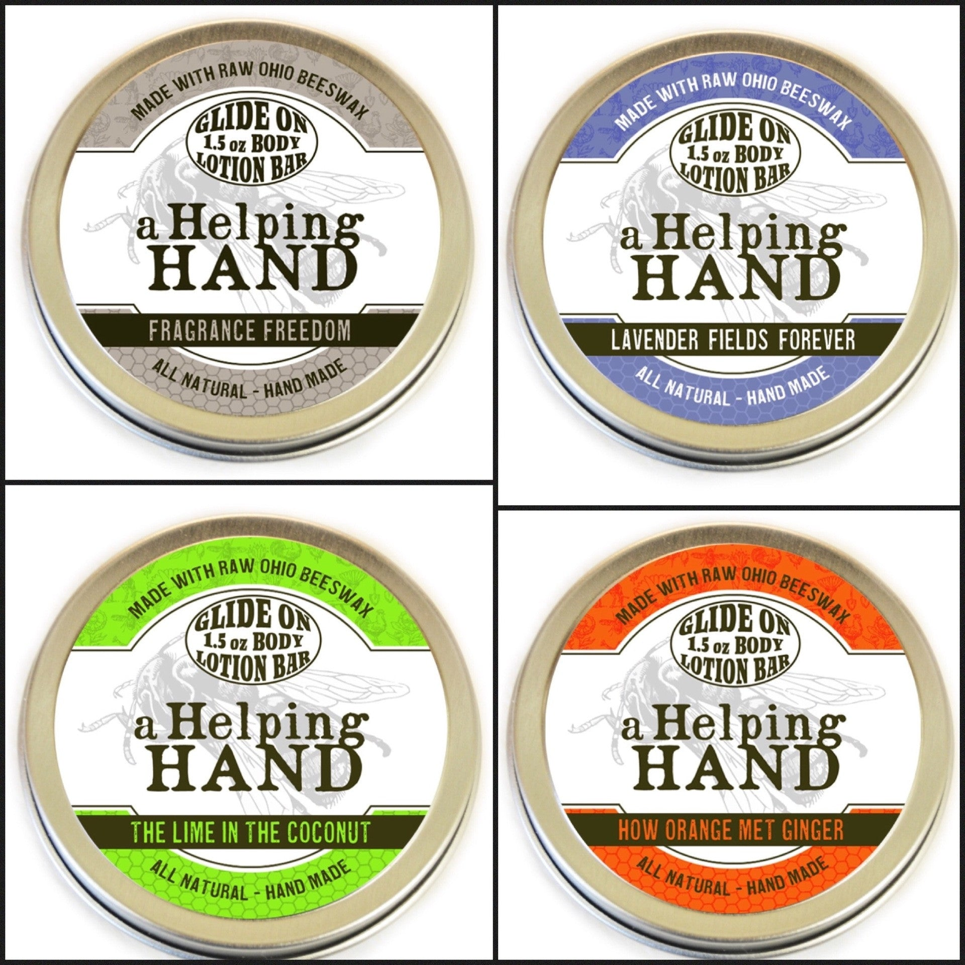 Helping Hand Body Lotion Bars - Celebrate Local, Shop The Best of Ohio