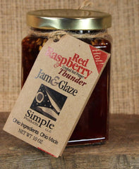 Red Raspberry Thunder Glaze (10 oz) - Celebrate Local, Shop The Best of Ohio
