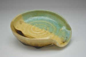 Earthtone Hand Thrown Ceramic Spoon Rest - Celebrate Local, Shop The Best of Ohio