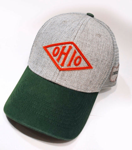 Vintage Ohio Diamond Hat - Celebrate Local, Shop The Best of Ohio