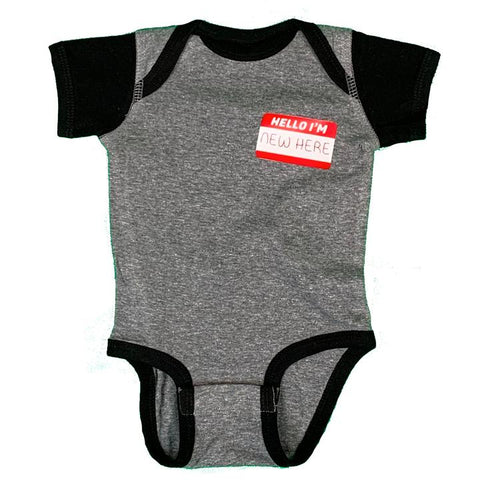 Name Tag Unisex Onesie - Celebrate Local, Shop The Best of Ohio