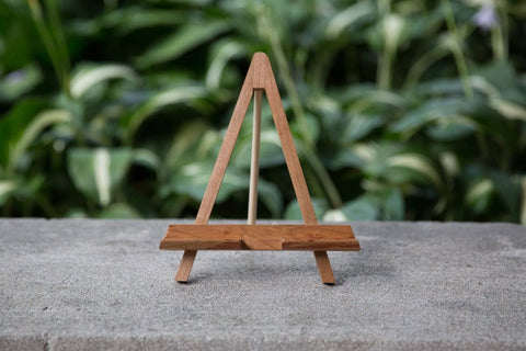Wood Crafted Easel Smartphone/Tablet Holder - Cherry or Walnut - Celebrate Local, Shop The Best of Ohio