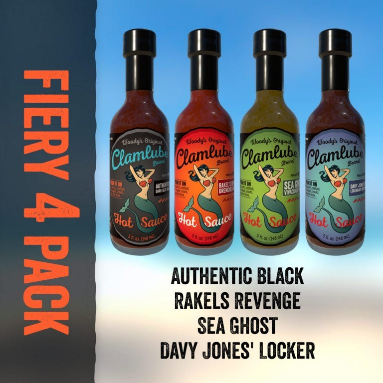 Fiery 4-Pack Hot Sauce Gift Set - Celebrate Local, Shop The Best of Ohio