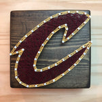 Cleveland Cavaliers String Art - Celebrate Local, Shop The Best of Ohio