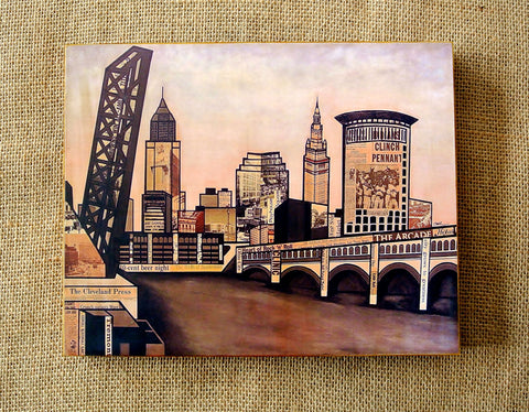 Cleveland Rust Belt Print 8x10 - Celebrate Local, Shop The Best of Ohio