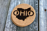 Ohio Cork Coasters (Variety of Images) - Celebrate Local, Shop The Best of Ohio