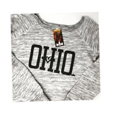 Glitter Ohio Womens Wide Neck Sweatshirt - Celebrate Local, Shop The Best of Ohio
