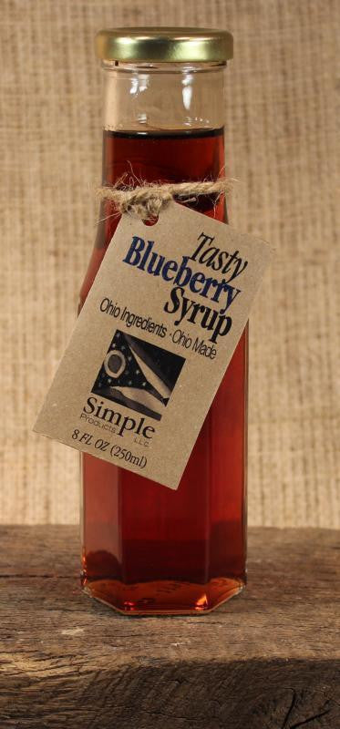 Blueberry Syrup (8 oz) - Celebrate Local, Shop The Best of Ohio