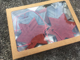 Star Shaped Wood Ornament Gift Box  - Set of 5 (Variations of Colors) - Celebrate Local, Shop The Best of Ohio
