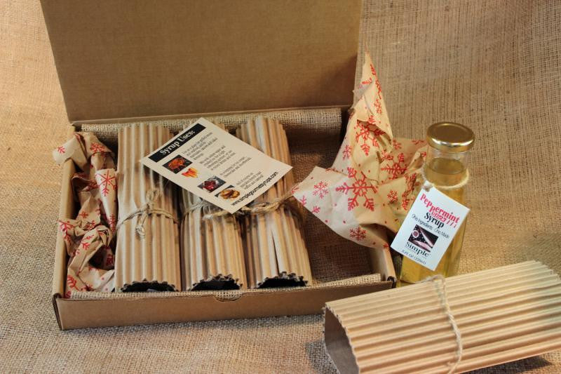 Simple Syrups Gift Box  4 oz Four Bottle Sampler - Celebrate Local, Shop The Best of Ohio
