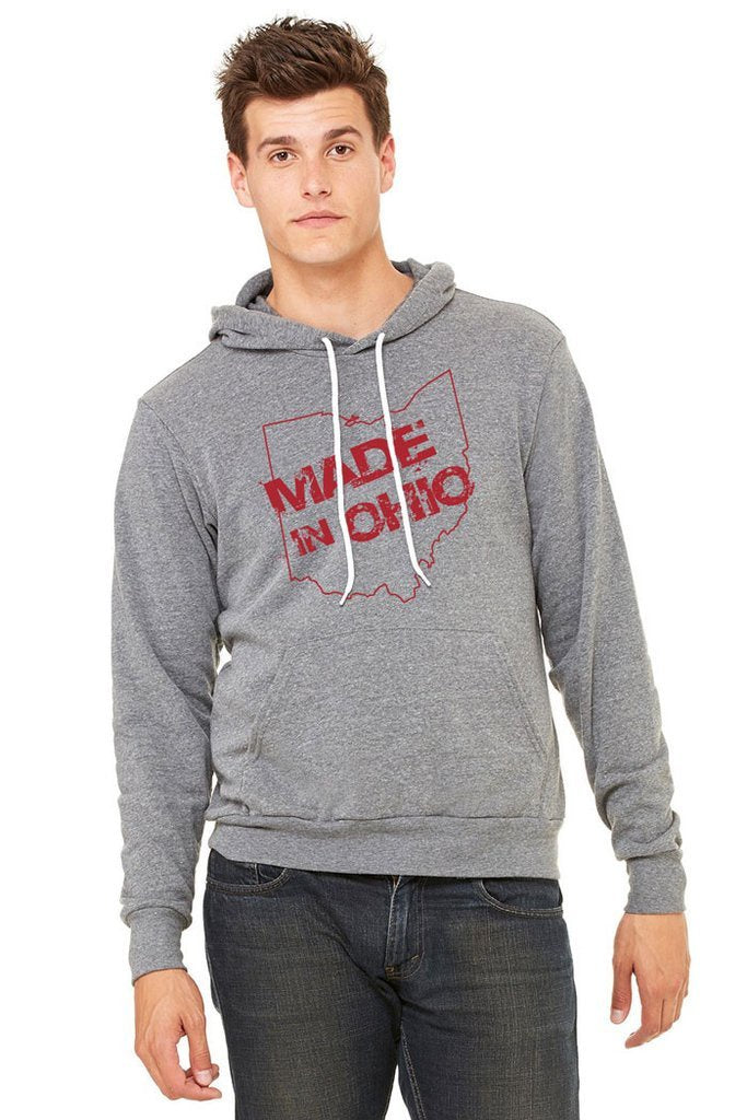 Made In Ohio - Youth Gray Hoodie - Celebrate Local, Shop The Best of Ohio