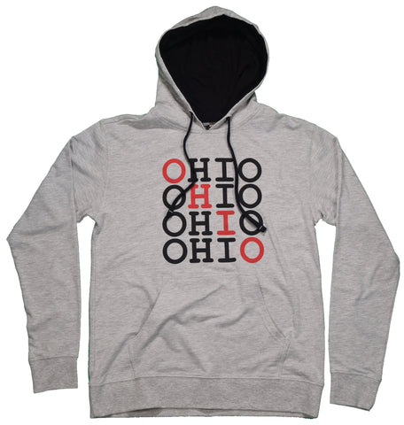 Repeating Ohio Hoodie - Celebrate Local, Shop The Best of Ohio