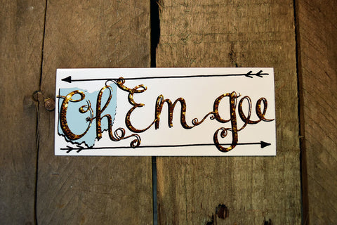 O M G Sticker - Celebrate Local, Shop The Best of Ohio