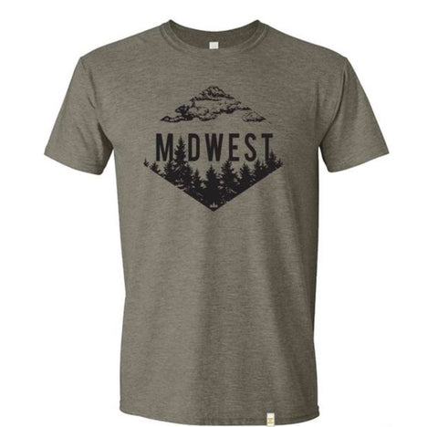 Midwest Trees Unisex T-Shirt - Celebrate Local, Shop The Best of Ohio