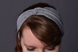Handmade Flannel Headband with Cute Twist - Celebrate Local, Shop The Best of Ohio