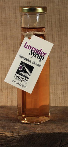 Lavender Syrup (8oz) - Celebrate Local, Shop The Best of Ohio