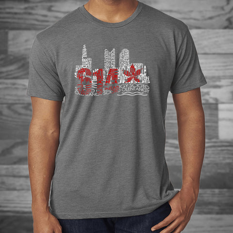 Columbus Skyline T-Shirt - Celebrate Local, Shop The Best of Ohio