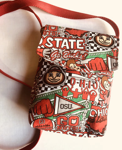 Buckeye Graffiti Cross Body Cell Phone Bag